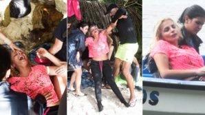 L' Isola dei Famosi, Francesca Cipriani ha un malore sulla spiaggia, è stata portata via dai medici