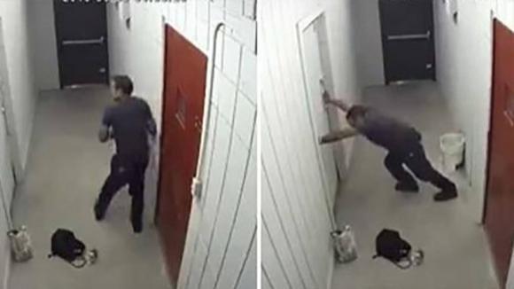 Questo negozio subisce tante rapine: il proprietario decide di installare una trappola per i ladri