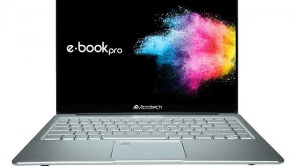 Microtech E-Book Pro, arriva l'ultrabook italiano con Windows o Linux