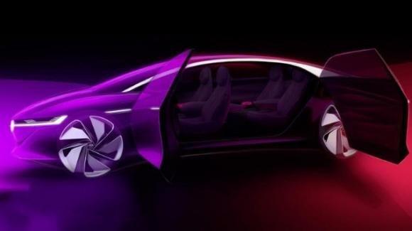 Salone di Ginevra: ecco la Volkswagen I.D Vizzion, la berlina elettrica con guida totalmente autonoma