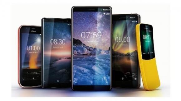 MWC 2018: arriva HMD con Nokia 8 Sirocco, Nokia 7 Plus, Nokia 6 2018, Nokia 1, e Nokia 8110