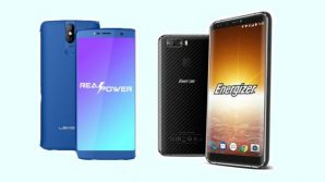 Leagoo Power 5 vs Energizer Power Max P16K Pro: al MWC 2018 ecco la sfida dei power phone