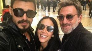 Francesco Monte pubblica selfie insieme a Paola Di Benedetto e Filippo Nardi: la didascalia è per Eva Henger?
