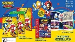 Sonic Mania Plus, un nuovo racing game, fumetti ed un cartoon nel futuro di SEGA