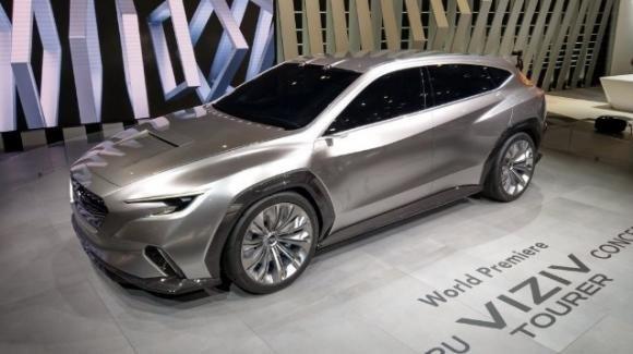 Subaru Viziv Tourer, il concept di station wagon nipponica con guida assistita Eyesight
