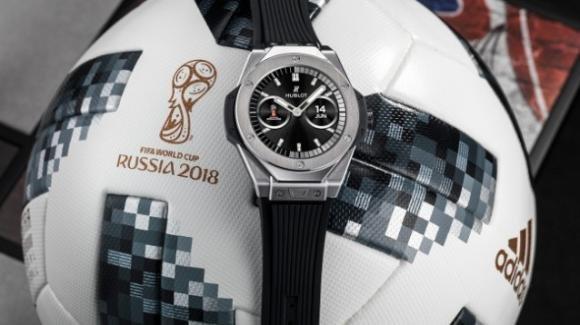 Hublot presenta lo smartwatch per gli arbitri del Mondiale di calcio 2018