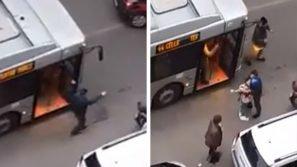 Roma, il video della ragazza colpita per errore dallo sparo di un carabiniere