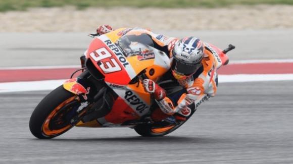 Gp Austin: assolo di Marquez. Vinales e Iannone sul podio. Rossi 4°