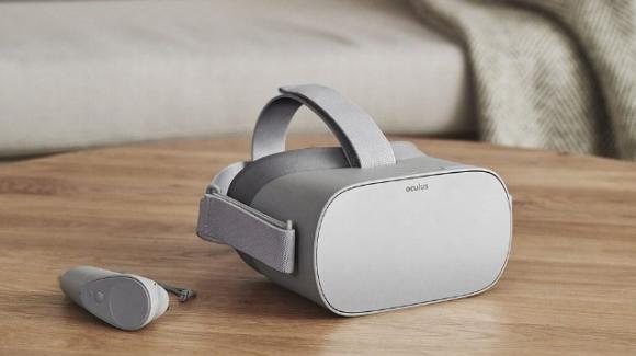 Oculus Go di Facebook: arriva il visore VR low cost per la realtà virtuale senza fili