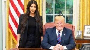 Kim Kardashian si è incontrata con Trump per domandare la grazia di una detenuta afroamericana