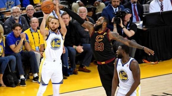 NBA The Finals, 31 maggio 2018: Warriors subito avanti sui Cavaliers