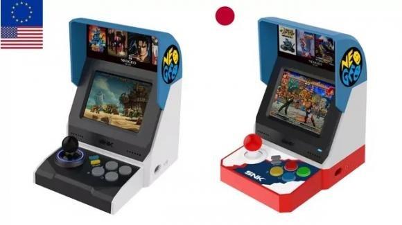 Neo Geo Mini, il mini cabinato SNK arriverà con 40 giochi precaricati in due versioni