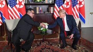 Donald Trump e Kim Jong-un: