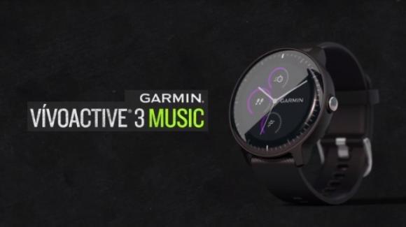 Garmin Vivoactive 3M: ancora più autonomo dallo smartphone, grazie allo storage per 500 canzoni