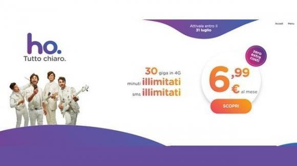 Anche Vodafone ha il suo operatore virtuale low cost anti-Iliad: ecco Ho, e la sua offerta
