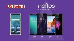 LG Stylo 4 vs Neffos C9/C9A/C7A/X9: la sfida degli entry level secondo i brand famosi