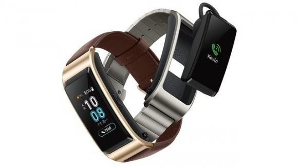 Huawei TalkBand B5, curioso smartwatch ibrido che fa anche da fitness tracker e da auricolare Bluetooth
