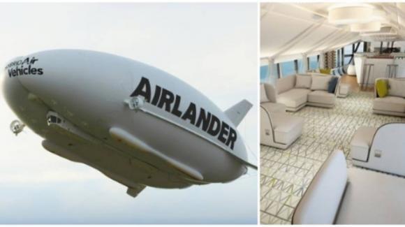 È l'Airlander 10 l'aereo più grande e lussuoso del mondo