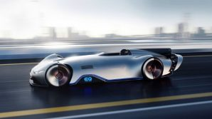A Pebble Beach, stupisce la bellissima Mercedes EQ Silver Arrow