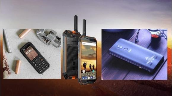 Da Caterpillar Inc, Ulefone, e AGM smartphone corazzati per tutte le esigenze