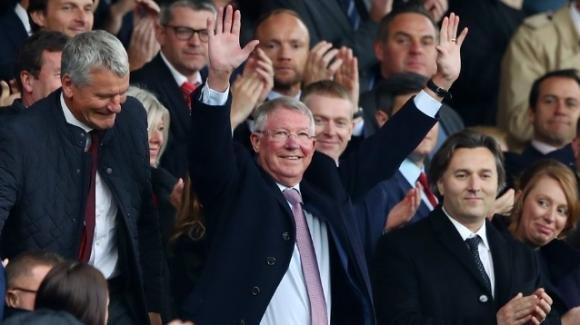 Manchester United: Sir Alex Ferguson torna all'Old Trafford