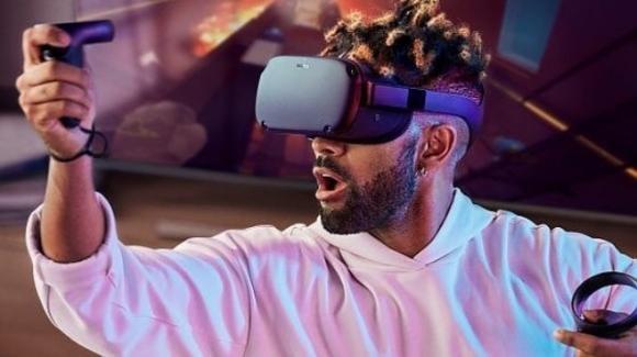 Oculus Quest, il nuovo visore all-in-one per la realtà virtuale secondo Facebook