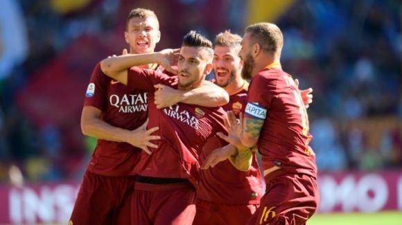 Serie A: Pellegrini show, derby alla Roma