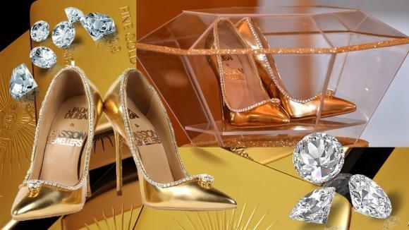 Presentate a Dubai le scarpe più care del mondo: 17 milioni di dollari