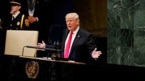 """L' Assemblea dell'ONU deride Trump, lui: """"La mia Amministrazione la migliore della storia USA"""""""