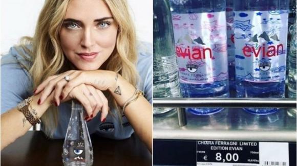 L'acqua di Chiara Ferragni: per placare la sete di apparenza e vanità