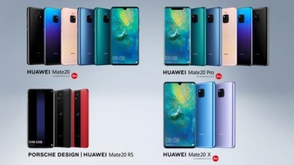 Huawei Porsche Design Mate 20 RS eHuawei Mate 20X: i top gamma cinesi declinati secondo lusso e passione per il gaming