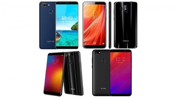 Oukitel C11 Pro, Homtom S17, Lenovo K9 e A5: la furia dei low cost cinesi scende in campo