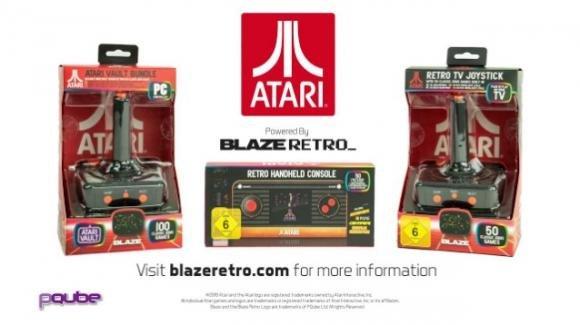 Atari Retro Handheld e Atari Retro Joystick: il meglio dei titoli Atari 2600 su due nuove retro-consolle