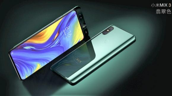 Xiaomi Mi Mix 3: top gamma con slider full screen, 10 GB di RAM, e (nel 2019) 5G