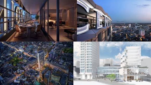 Il Centre Point di Londra ora ospita appartamenti di lusso