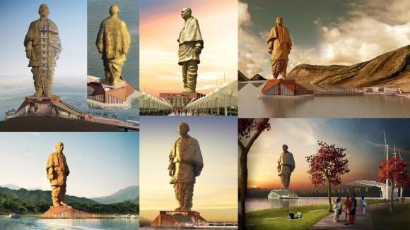 India, ultimata la statua più alta del mondo