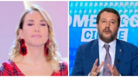 """Pomeriggio Cinque, Matteo Salvini parla di Elisa Isoardi: """"Sono single ma non sul mercato"""""""
