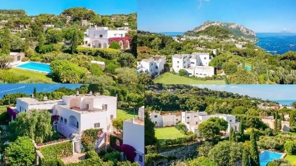 Capri, in vendita per oltre 10 milioni di euro la villa amata da Totò