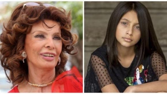 """L'Amica Geniale, Sofia Loren commossa da Ludovica Nasti: """"Non si poteva scegliere bambina migliore di lei"""""""