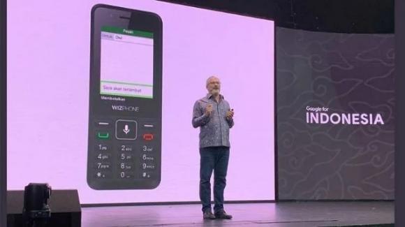 WizPhone WP006 4G: ecco il primo feature phone 4G di Google, con annesso Assistant