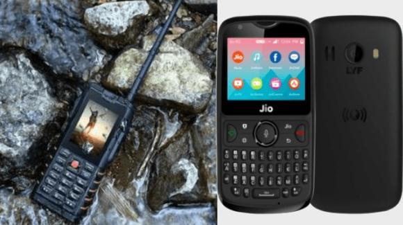 Ioutdoor T2, con feature da walkie-talkie, vs Reliance JioPhone 2 con KaiOS e app