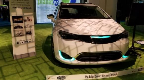 CES 2019: Magneti Marelli mostra i nuovi progetti smart per la guida autonoma e la sicurezza strsdale