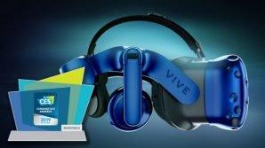 Wearable oculari al CES 2019, con i nuovi visori VR di HTC e gli occhiali per video a 360° di ORBI Prime