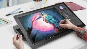 Lenovo: al CES 2019 i convertibili Yoga si arricchiscono di AI, e puntano agli artisti