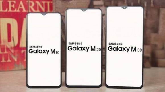 Prime specifiche e data di presentazione dei nuovi Samsung Galaxy M