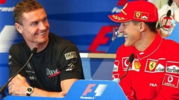 """Coulthard sul suo rapporto con il Kaiser: """"Schumacher pensava sempre di avere ragione"""""""