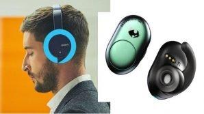 Suono senza fili: ecco le cuffie wireless Sony con Alexa, e gli auricolari Bluetooth Skullcandy Push