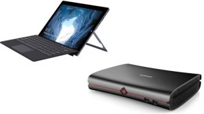 2-in-1 low cost Chuwi Ubook e mini barebone Alfawise B1: l'informatica low cost secondo la Cina