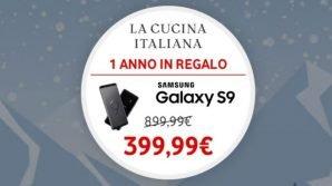 Vodafone Happy Friday: questa settimana arriva il Samsung Galaxy S9 a 399 euro (o tre buoni Just Eat da 5 euro)