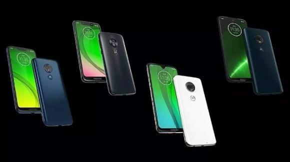 Moto G7: trapela per errore l'intera line-up dei 4 nuovi medio-gamma Motorola (Lenovo)